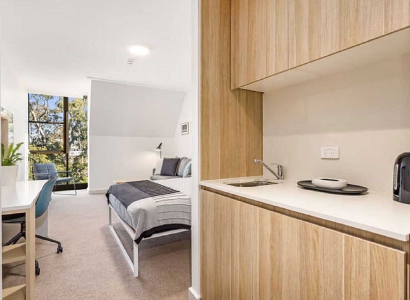 Studio rooms with kitchen facilities