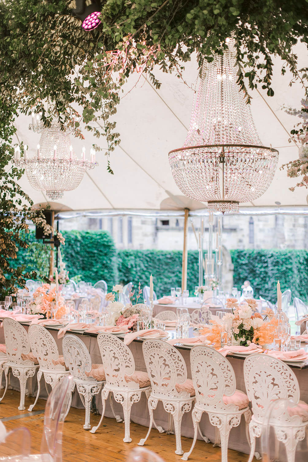 Lush manicured grounds to complement your event styling